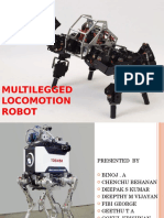 Multilegged Locomotion Robot