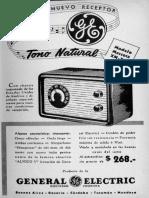 General Electric - Publicidad 1947