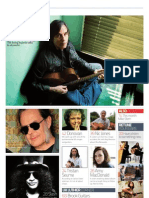 Acoustic Magazine Issue 45 Content
