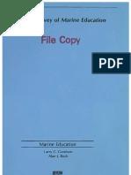 Marine Education Analysis