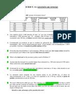 Tema 11. Problemas Gestión de Stocks