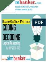 Coding Decoding Practice Book