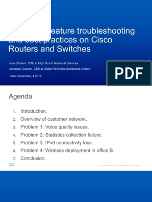 Routers and Switches Troubleshooting | Internet Protocols