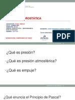 10. Clase Hidrostatica