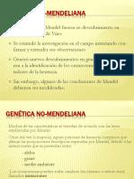 Genetica No Mendeliana