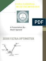 Zeiss Ultra Optimeter