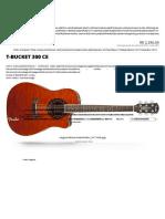 Fender® Brasil - T-Bucket 300