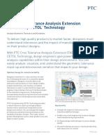 PTC Creo Tolerance Analysis Datasheet