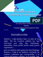 Rehabilitación en accidente cerebrovascular