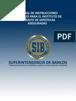 Manual de Instrucciones Contables Para El Instituto de Fomento de Hipotecas Aseguradas (FHA)
