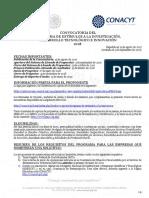 Convocatoria Estimulos Para Empresas Investigacion 2018