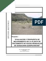 Estudio Geotecnico PTAR Quiquijana Cusco