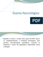 Exame Neurológico - Modificado