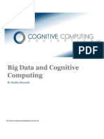 Big Data and Cognitive Computing