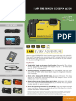 Nikon Coolpix W300 Leaflet en--Original