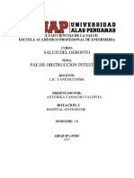 PAE de Obstruccion Intestinal