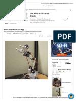 Brazo Robot Arduino App - Todo