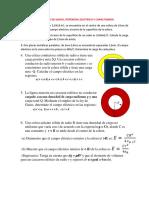 Tarea 2 - Gauss , Potencial Electrico y Capacitancia