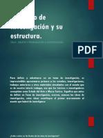 Maximiliano Trujillo Lemes - El Diseño de Investigación y Su Estructura