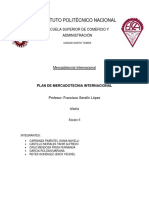 Plan de Mercadotecnia Internacional Final