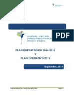 Plan Estrategico 2014 2019