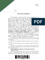 C.A. Valpso. Documentos después de cierre 2