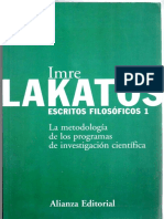 _imre Lakatos_escritos Filosoficos 1