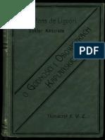 Alfons de Liguori, O Godnosci i Obowiazkach Kaplanskich
