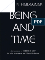 Being-And-Time by Martin Heidegger