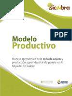 Modelo Productivo Manejo Agronómico de La Caña de Azúcar y Producción Agroindustrial de Panela en La Hoya Del Río Suárez