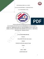 Evaluacion Preliminar Huancan