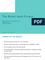 Group Project - Brand Audit
