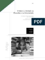 O saber e a verdade na Psicanálise e na universidade.pdf