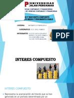 Interes y Descuento Compuesto Diapositivas