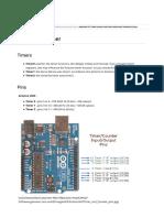 Arduino et Timer - Wiki de Reso-nance Numérique