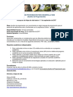 07-09Convocatoria Personalizada Auxiliar Desarrollo.