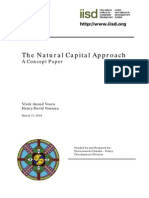 Natural Capital Approach