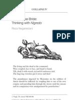 The Corpse Bride:Thinking with Nigredo by Reza Negarestani