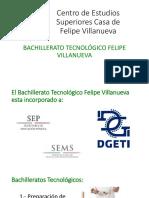 Presentación Carreras Técnicas DGETI