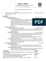 smeet mistry resume 9 1 17