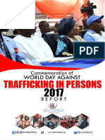 Report on World Day Against Trafficking in Persons 2017