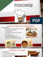 Gastronomia de Niger