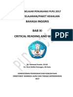 BAB XI Critical Reading and Writing