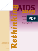Rethinking AIDS - Rethinking AIDS, Connecting Questioners, Reigniting Debate - 2009