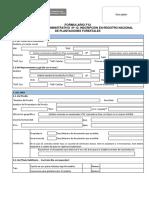 Formulario-12 Para Plantaciones Forestales