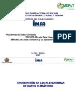 Biblioteca de Datos Climáticos y su aplicación al Seguro Agrario