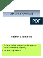 Gizi - Vitamin b Kompleksk