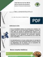Auditoria Administrativa II 1° 01-09-2017