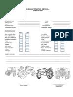 Check List Tractor Operador