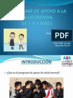 Programa de Apoyo a La Salud Mental